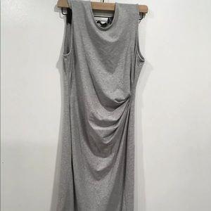 Theory Jordiana gray dress medium